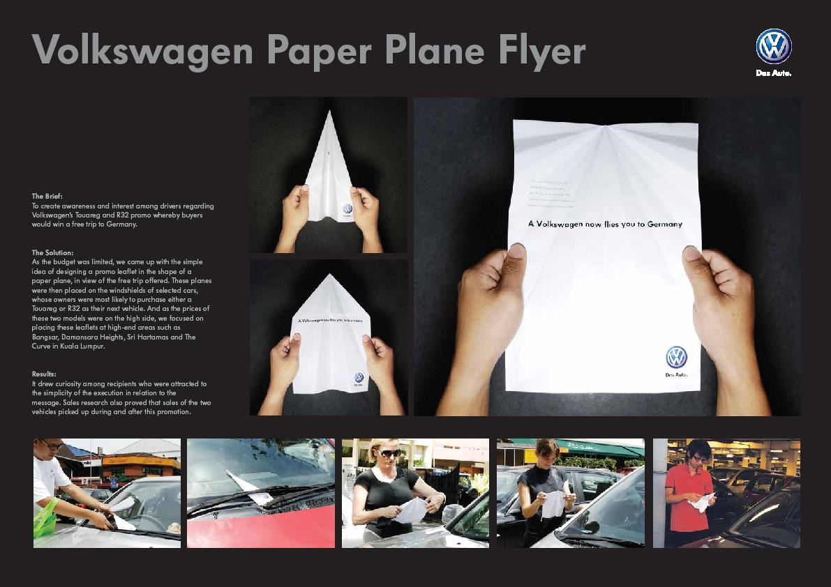 Paper Plane Flyer