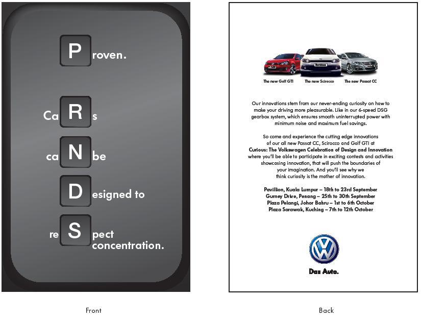 Volkswagen roadshow DM